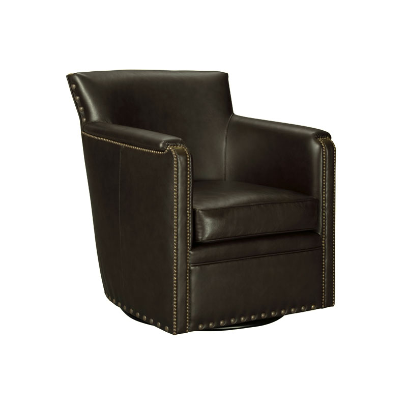 Leathercraft 2898-SW Lodge Swivel Chair