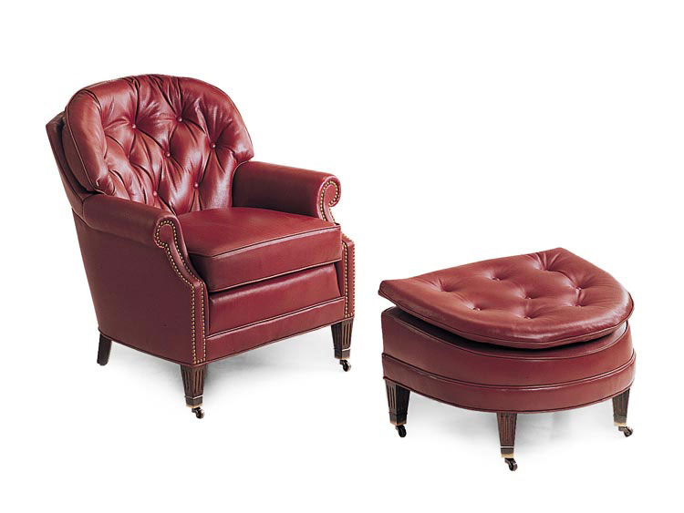 Leathercraft 292 19 Kirkland Lounge Chair And 293 Kirkland Ottoman (sold  Separately)