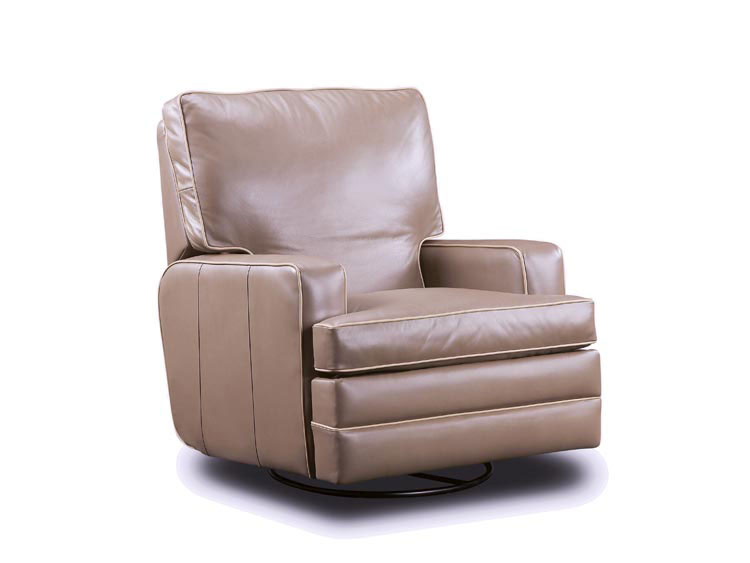 Leathercraft 2947 Hale Swivel Rocker Recliner