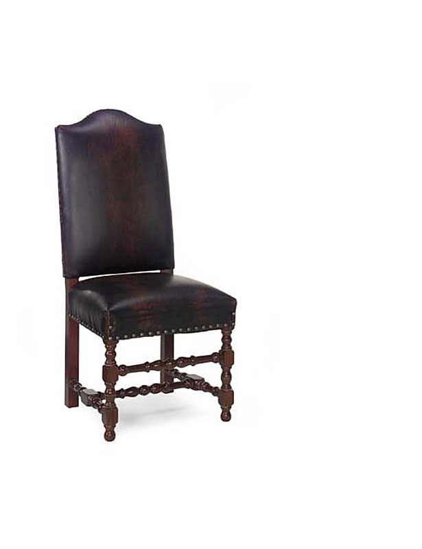 Leathercraft 409-10 Vaughn Armless Dining Chair