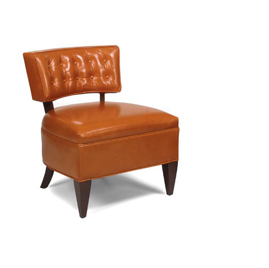 Leathercraft 4272-10 Jacqueline Armless Chair