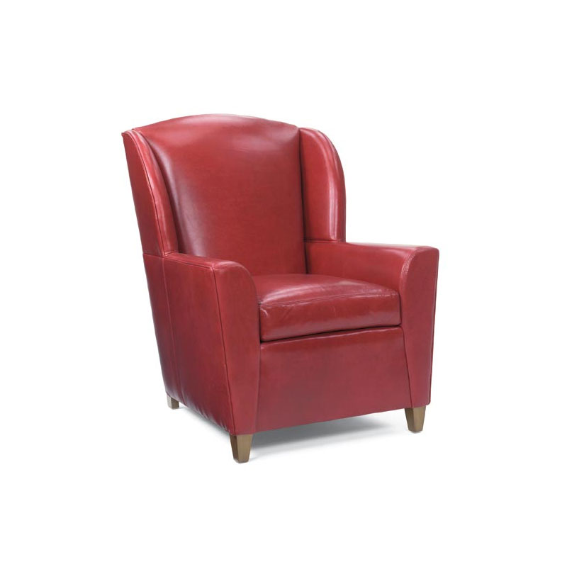Leathercraft 904-02 Lucy Wing Chair