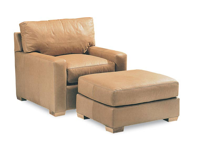 Leathercraft 920 02 Manhattan Chair And 920 03 Manhattan Ottoman (sold  Separately)