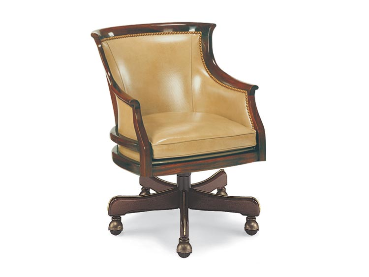 Leathercraft 2406 Sheraton Tilt Swivel Chair