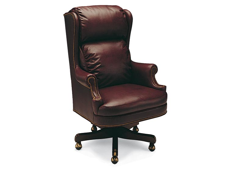 Leathercraft 613-25 Cambridge High Back Tilt Swivel Chair