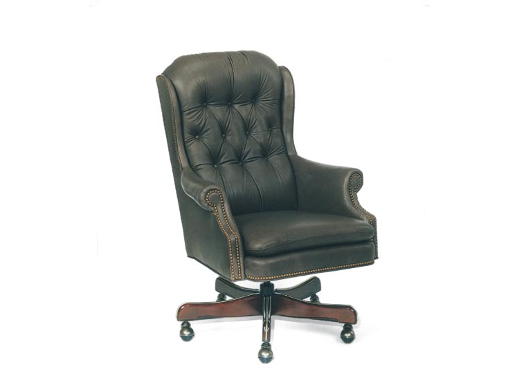 Leathercraft 633-18 High Back Tilt Swivel Chair