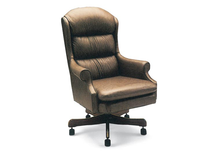 Leathercraft 643-17 Morris High Back Tilt Swivel Chair