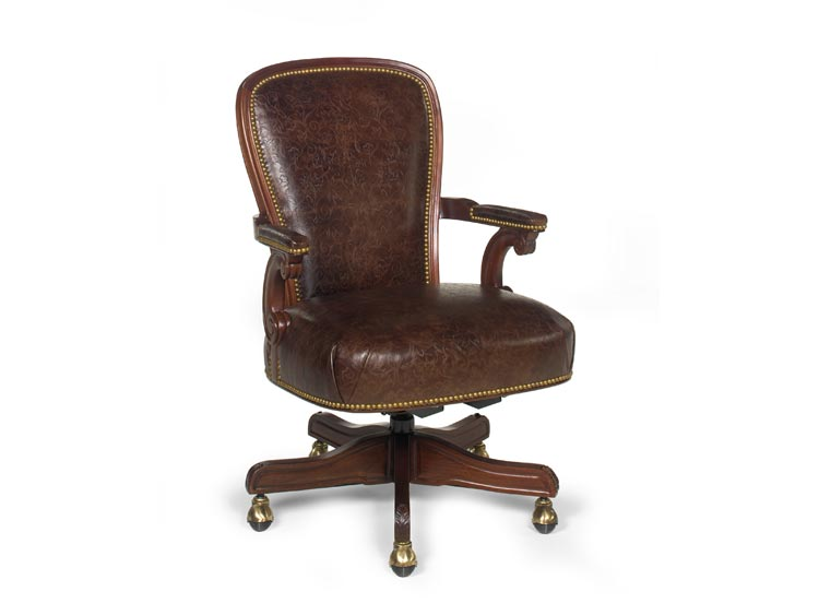 Leathercraft 693-27 Wiggins Executive Swivel Chair