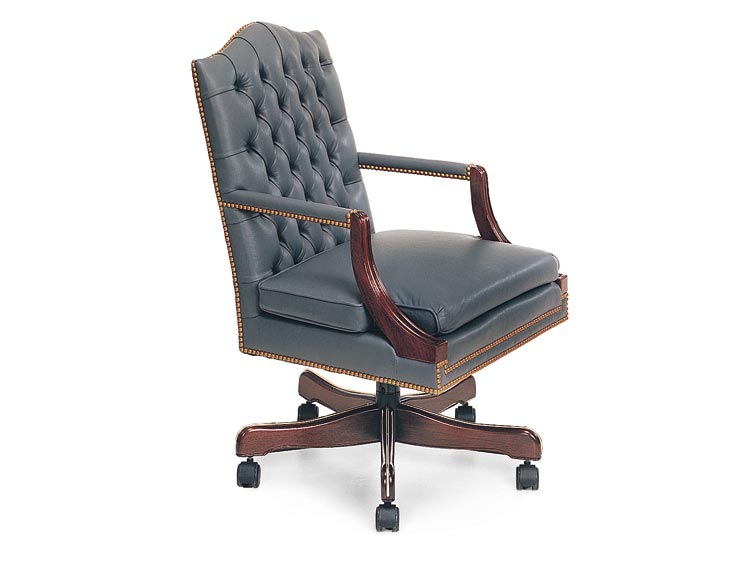 Leathercraft 7052-18 Martha Tilt Swivel Chair