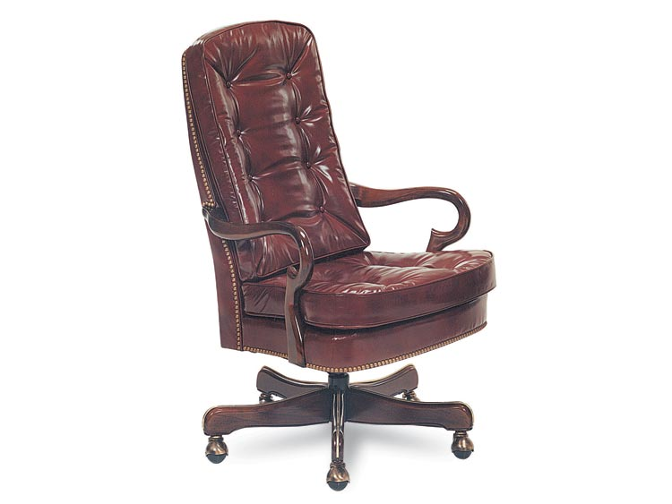 Leathercraft 707 Geurin Tilt Swivel Chair