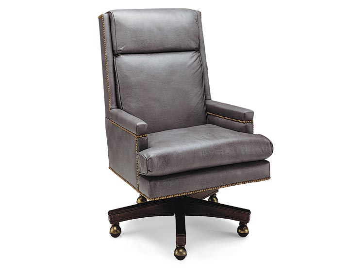 Leathercraft 7133 Thornton High Back Tilt Swivel Chair