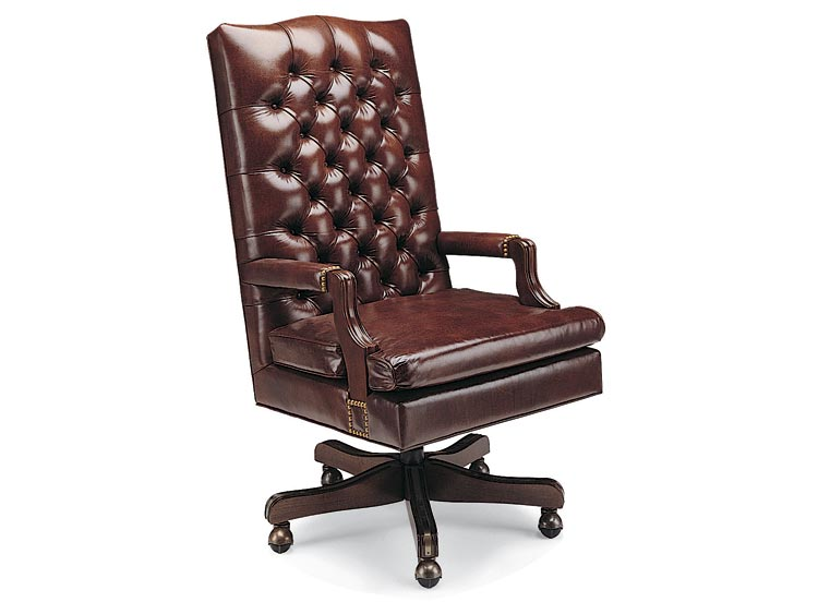 Leathercraft 793-18 Sullivan Tilt Swivel Chair