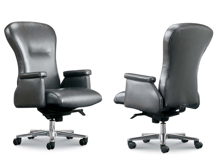 Leathercraft 8203 Posture Back  Executive Swivel Chair