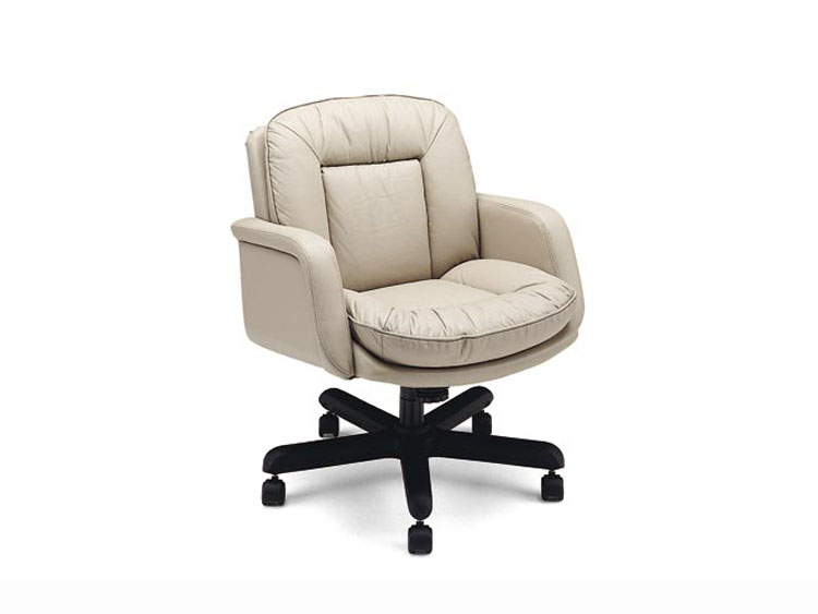 Leathercraft 9112 Low Back Tilt Swivel Chair