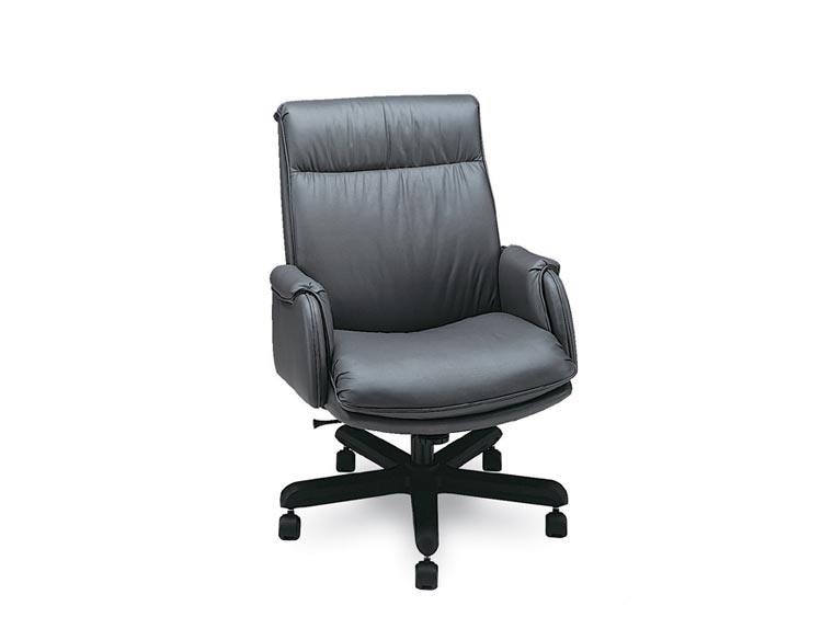 Leathercraft 9133H Asher Extra High Back Tilt Swivel Chair
