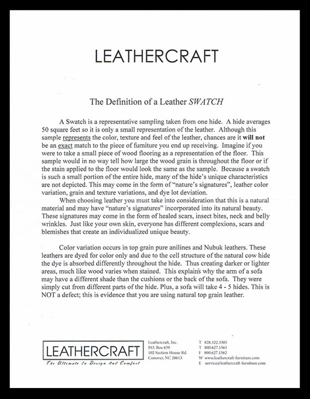 Leathercraft Swatches