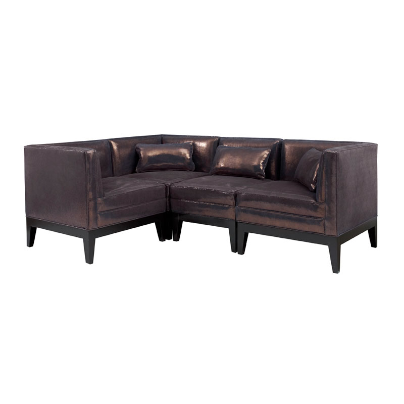 Leathercraft 4352  Princeton Series Sectional