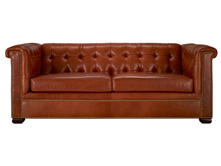 Leathercraft 1280-18 Tufted Sofa