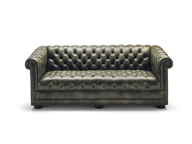 Leathercraft 2070-76-38 Churchhill Sofa