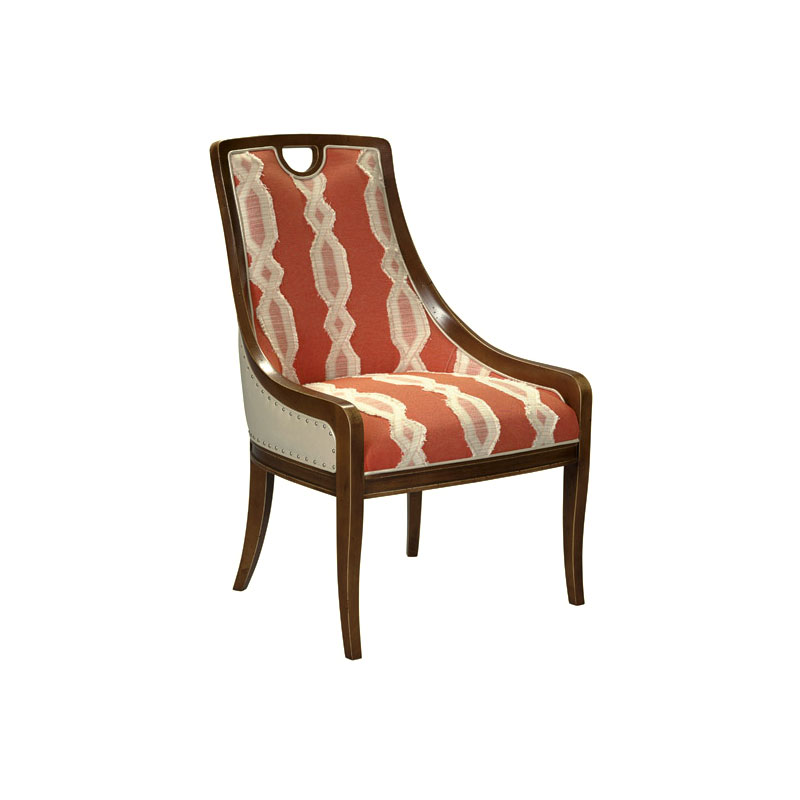 Leathercraft 439 Aerin Dining Chair