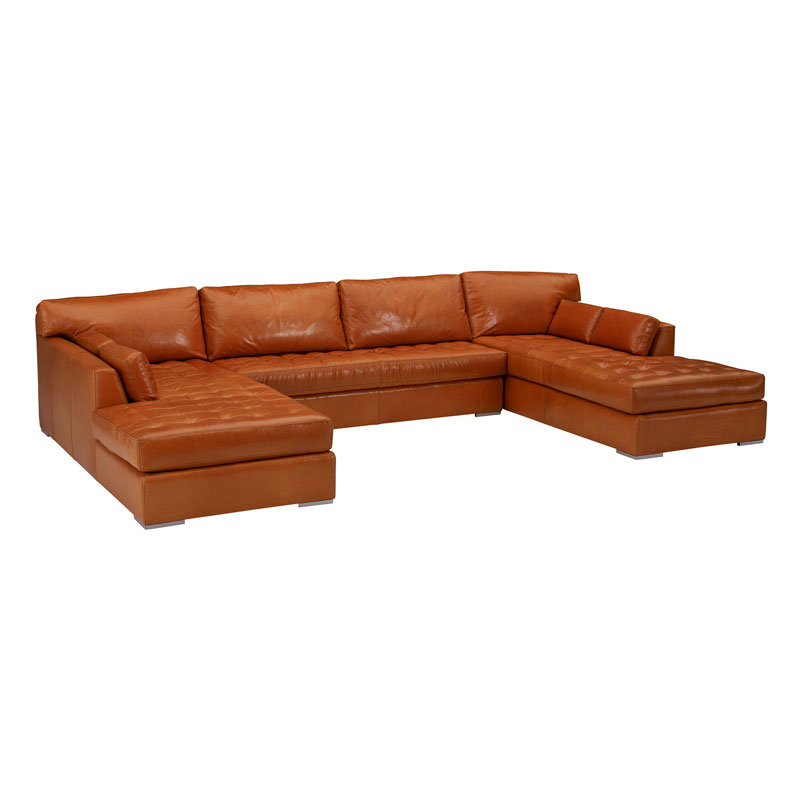 Leathercraft 4450 Skyline Series Sectional