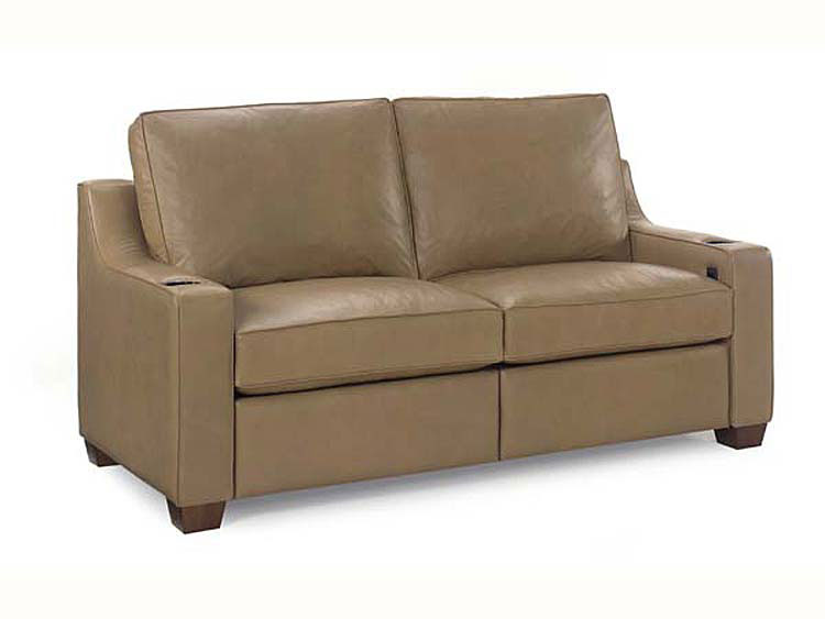 Leathercraft 917-00/75REC Reclining Short Sofa
