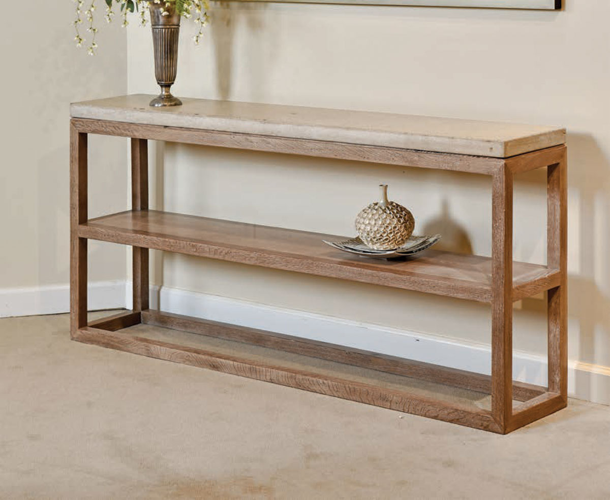Picture of: Mackenzie Dow Desert Modern Sonora Console Table Ohio Hardwood Furniture