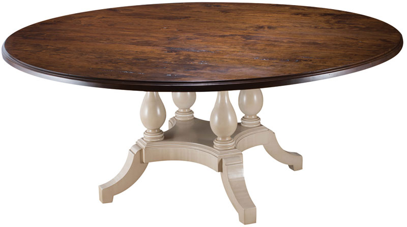Mackenzie Dow Four Pedestal Table