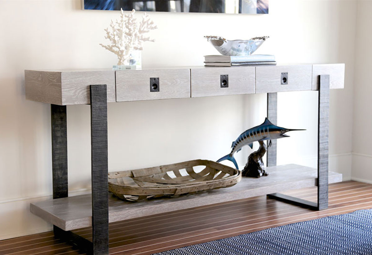 Mackenzie Dow Jarret Bay Collection Boathouse Console Table
