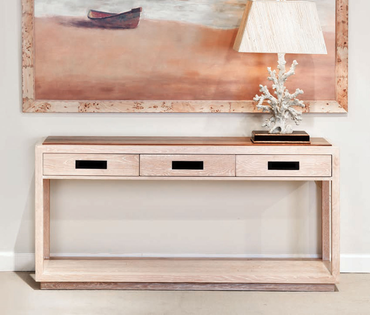 Mackenzie Dow Jarret Bay Collection Hatteras Console Table