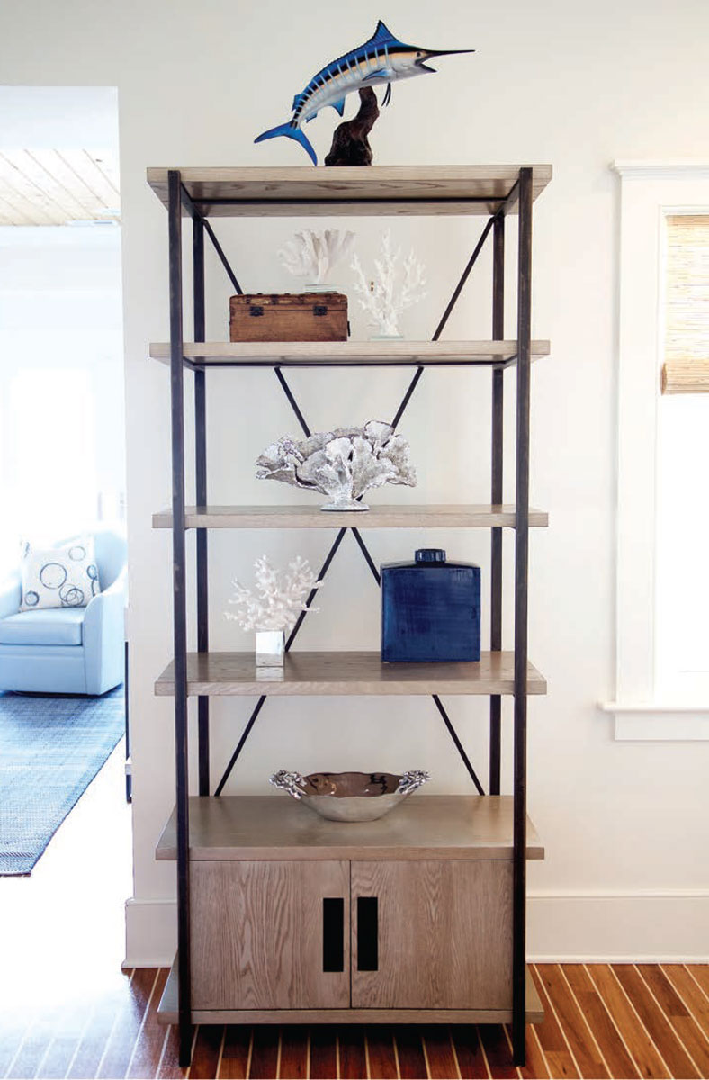 Mackenzie Dow Jarret Bay Collection Boathouse Bookcase
