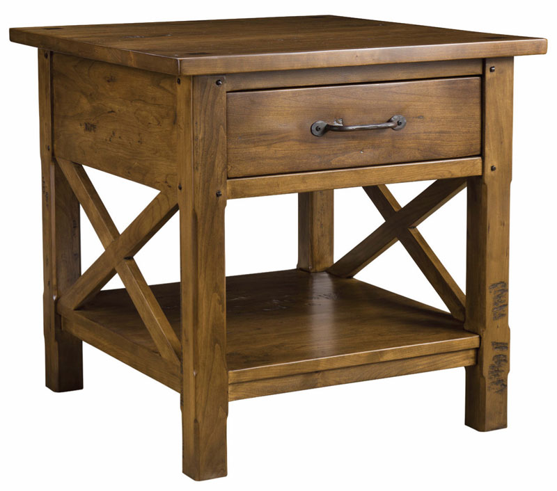 Mackenzie Dow Classic Elements End Table with Drawer