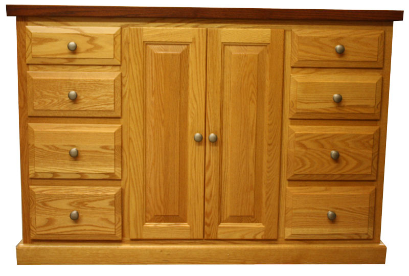 8 Drawer Kitchen Island