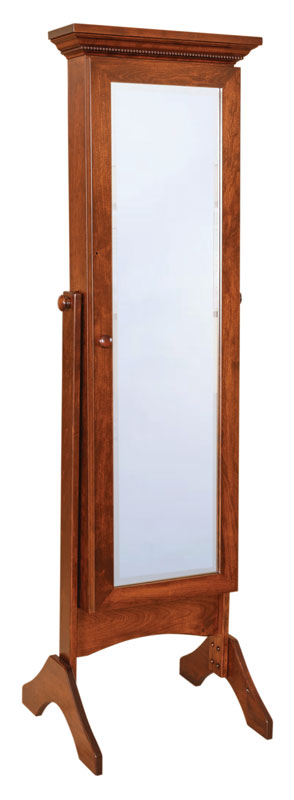cheval mirrors with jewelry storage ohio hardwood furniture. Black Bedroom Furniture Sets. Home Design Ideas