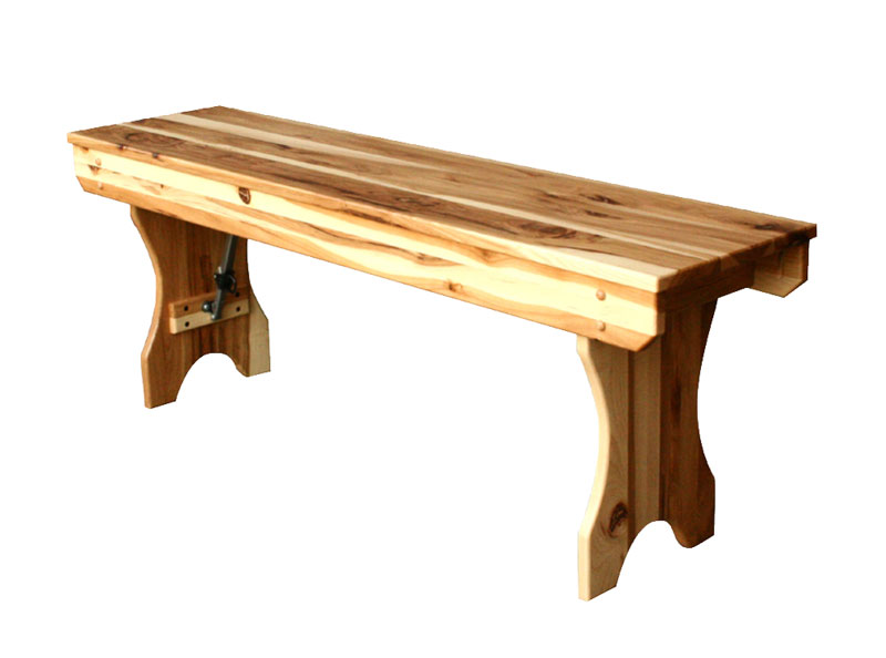 Folding Foyer Bench : Folding bench ohio hardwood furniture