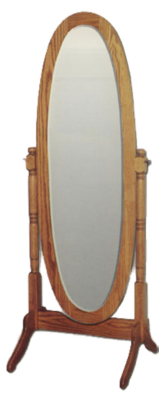 Heritage Oval Chevelle Mirror Ohio Hardwood Furniture