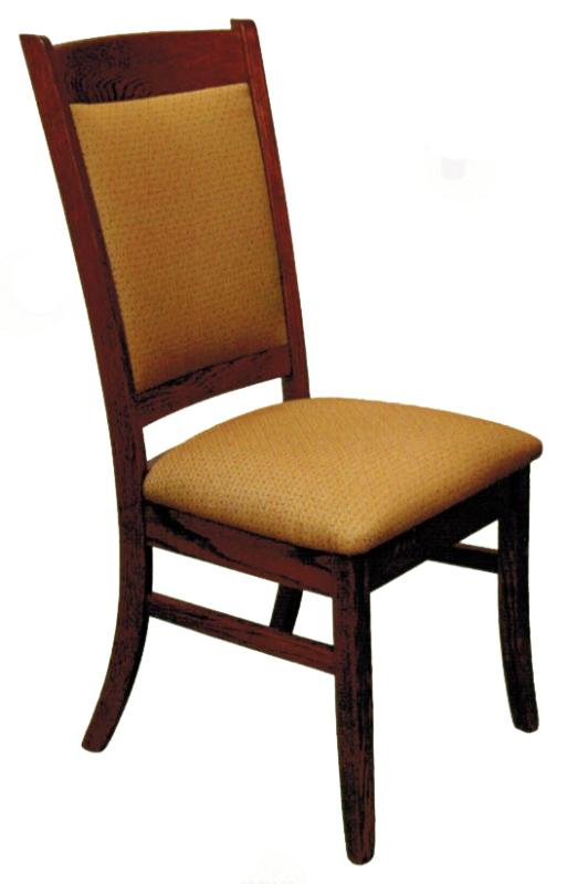 Franklin Upholstered Side Chair Ohio Hardwood Furniture