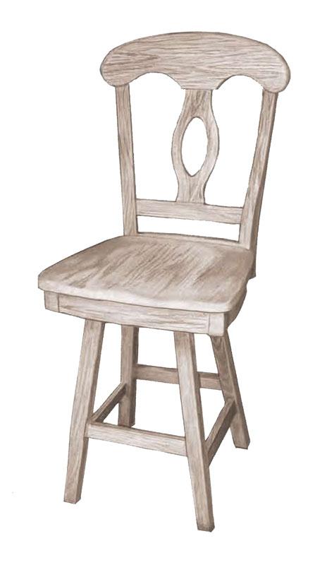 Napoleon Swivel Bar Stool Ohio Hardwood Furniture : webreadyNapoleon Swivel B from ohiohardwoodfurniture.com size 464 x 800 jpeg 37kB