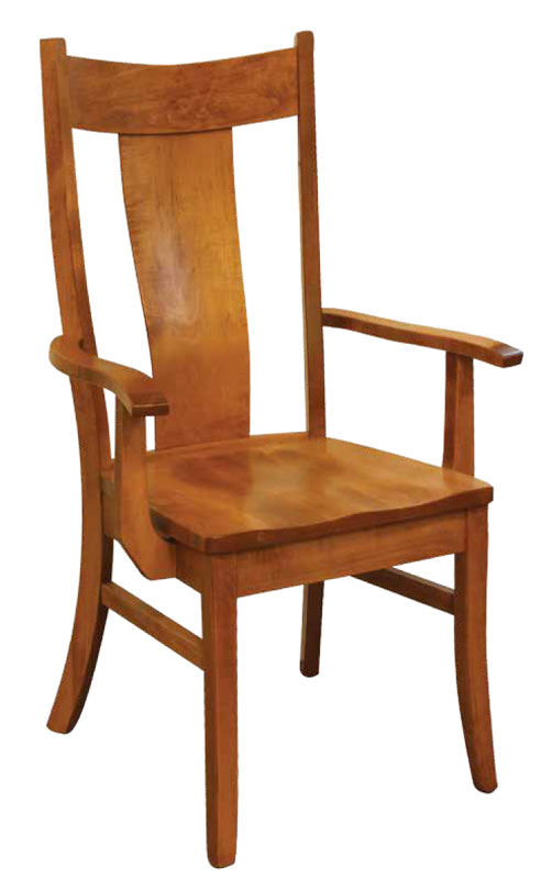 Eagle Arm Chair With Wood Seat