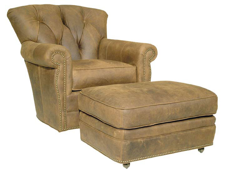 Our House 370 Swivel Rocker Chair and 370-O Ottoman