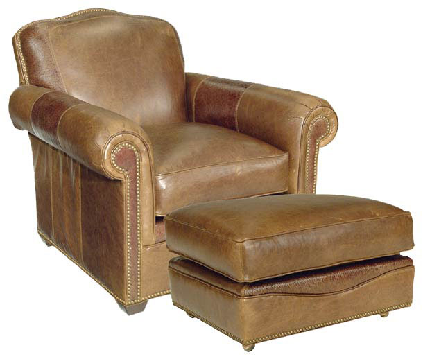 Our House 378 Chair and 378-O Ottoman