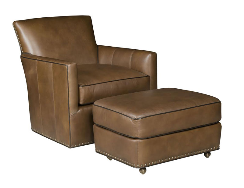 Our House 416-S Swivel Chair and 416C-O Ottoman