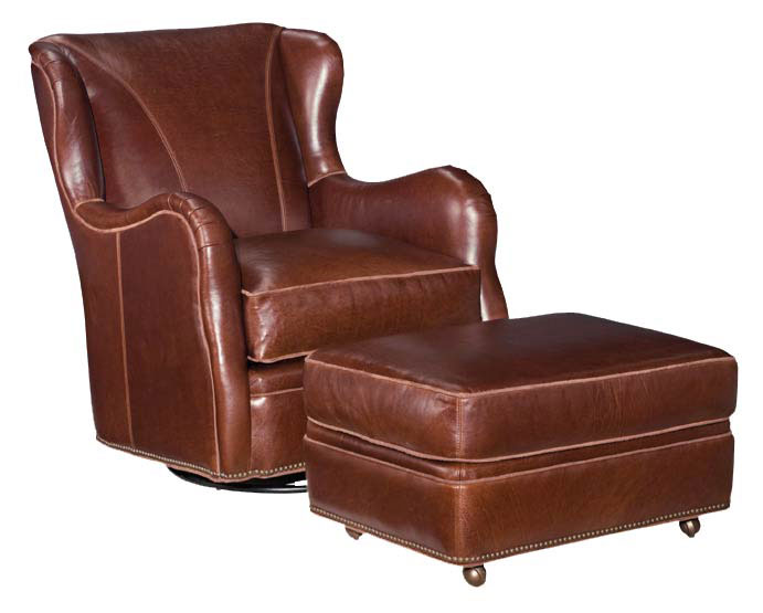 Our House 451 Glider Swivel Chair and 451-O Ottoman