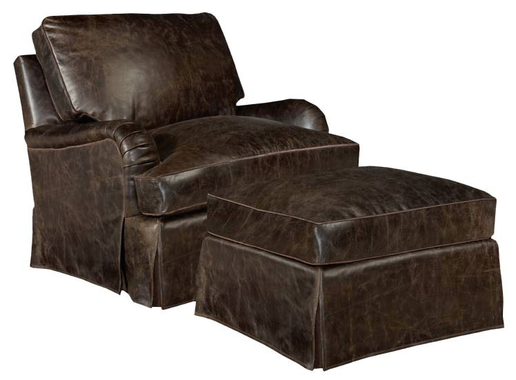 Our House 471-WF Chair and 471-OWF Ottoman