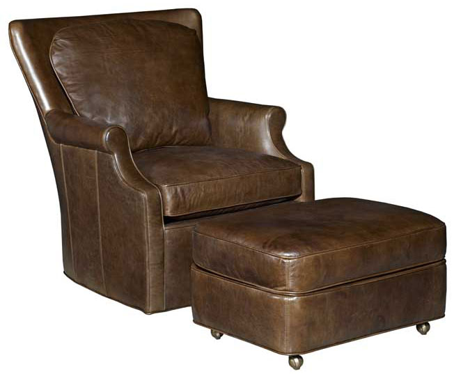 Our House 481 Swivel Chair and 481-O Ottoman