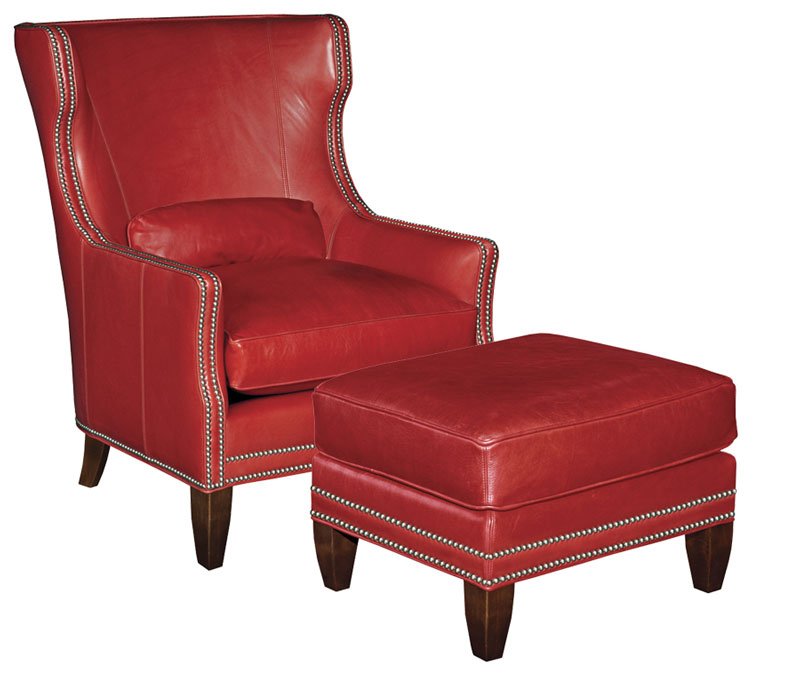 Our House 500 Wing Chair and 500-O Ottoman