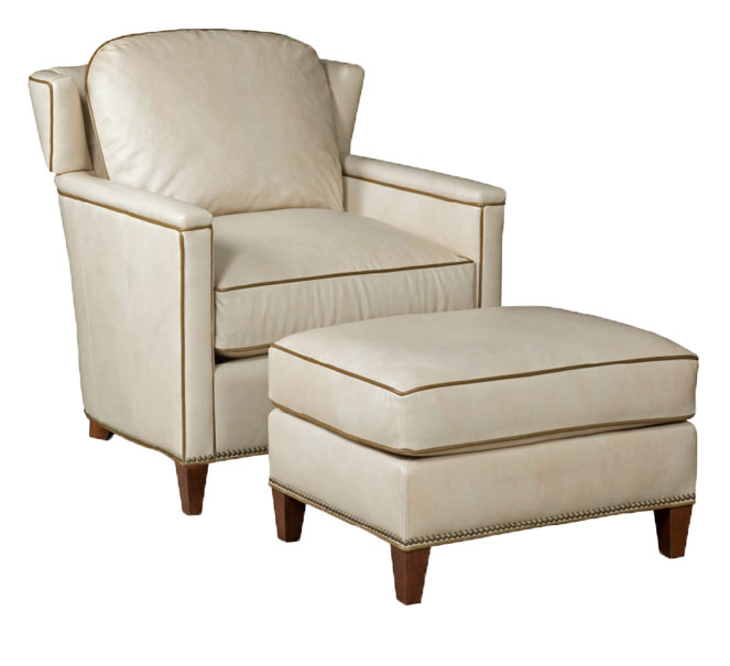 Our House 507  Transitional Chair and 507-O Ottoman