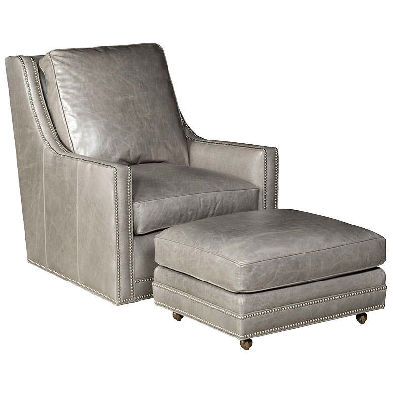 Our House 540-S Swivel Chair and 540-O Ottoman