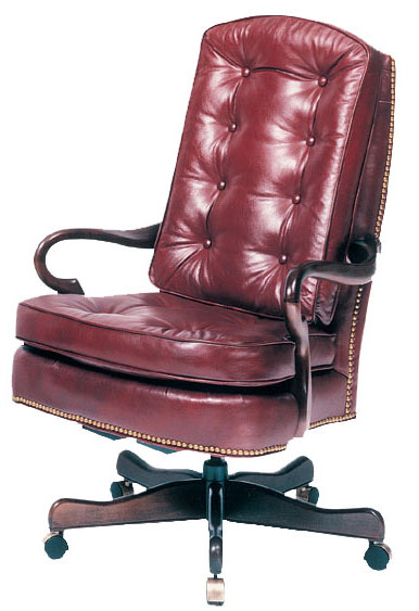 Our House GT-107-S Goose Alley Pillow Gas Tilt Swivel Chair