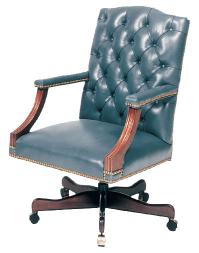 Our House GT-109-S Langthorn Tufted  Back Gas Tilt Swivel Chair